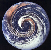 Earth swirl